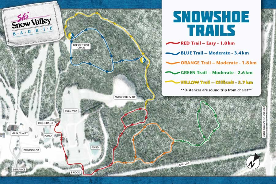 2015_Snowshoe Trail Map