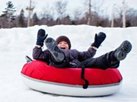 Snow Tubing at Snow Valley...For Great Family Fun