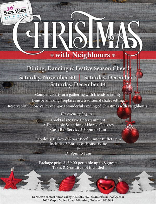 Christmas With Neighbours